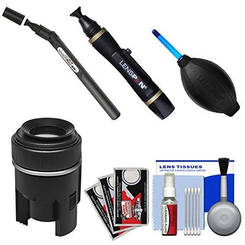 Lenspen SensorKlear II Pen with Loupe SENSOR Cleaning System + Kit for Canon EOS 6D, 70D, 5D Mark II III, Rebel T3, T3i, T4i, T5, T5i, SL1 DSLR Cameras ()