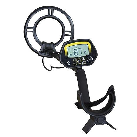 Asdomo Detector de Metales Quick Shooter Detector de Oro con Gran Pantalla LCD Treasure Hunter,