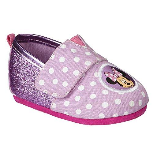 Disney Baby Minnie Mouse Maus erste Schuhe Soft rosa Punkte 17.5