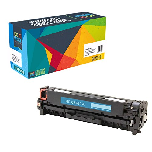 Do it Wiser Do it Wiser Compatible Cyan Toner Cartridge for HP LaserJet Pro 400 Color M451dn M451dw M451nw MFP M475dn MFP M475dw Pro 300 Color MFP M375nw - CE411A