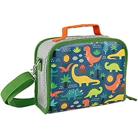 Petit Collage Insulated Lunch Box Dinosaurs