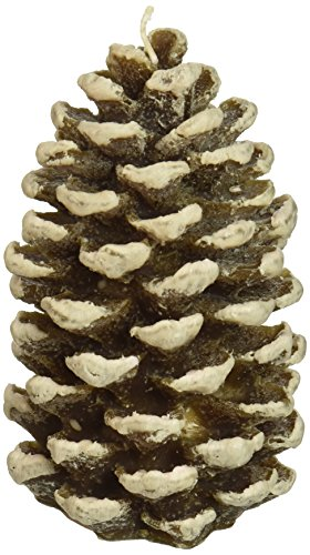 DecoGlow Pine Cone, Small - Tree Shaped Candle
