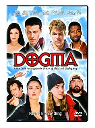 Dogma Linda Fiorentino Ben Affleck Matt Damon Alan Rickman Salma Hayek Chris Rock Jason Lee Kevin Smith Kevin Smith View Askew Productions Cine Y Tv