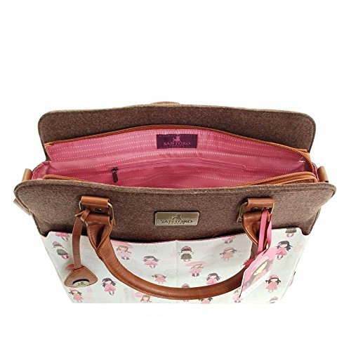 Gorjuss Traveller Handbag - London