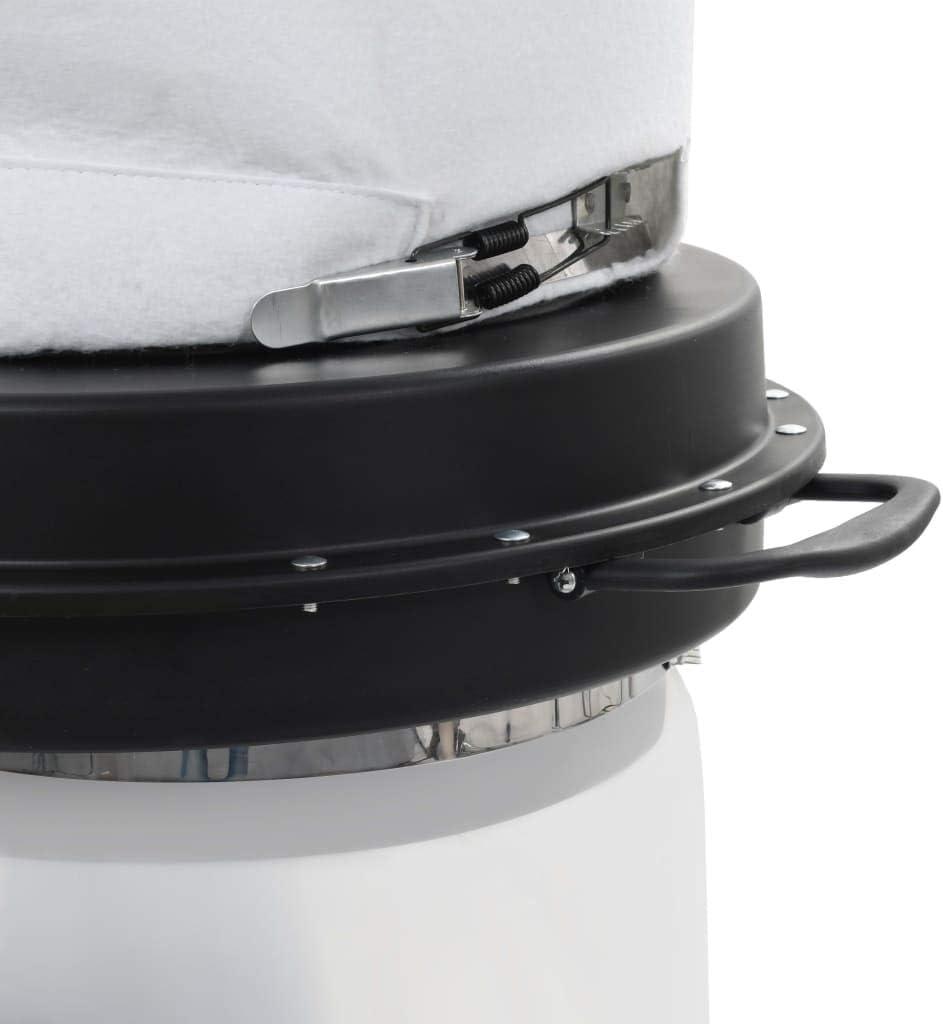 vidaXL Collecteur de Poussière avec Adaptateur 550 W Cyclone Filtre Aspirateur