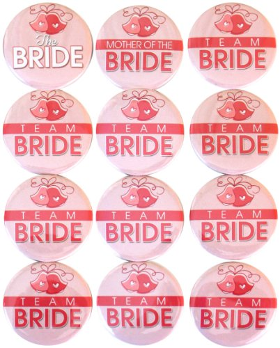 Buttonsmith Bride Bachelorette Party Button product image