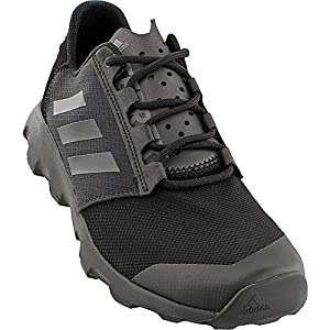 adidas Outdoor Men's Terrex Voyager DLX Athletic Water Sandal, Black/Vista Grey/Black, 8 M US