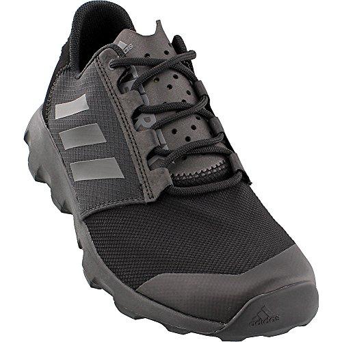 adidas Outdoor Men's Terrex Voyager DLX Athletic Water Sandal, Black/Vista Grey/Black, 8 M US