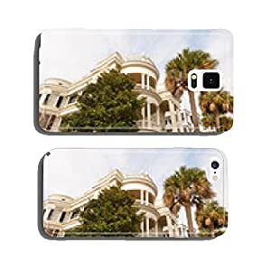 Historic houses along Battery st in Charleston, SC cell phone cover case iPhone6 Plus