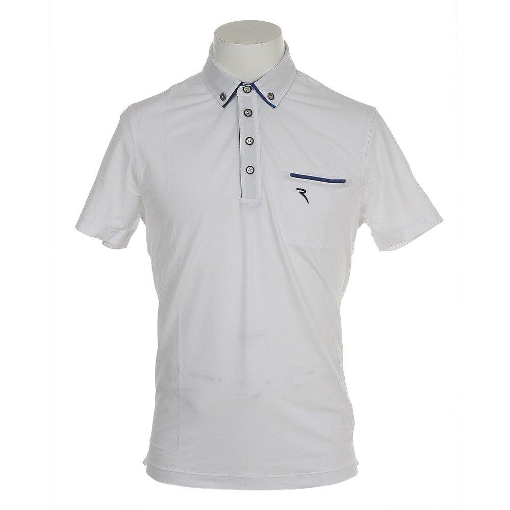 シェルボ(シェルボ) ゴルフウェア メンズ 半袖ポロシャツ ARRIGO 031-27444-004 LL ホワイト B07BNM7TZS