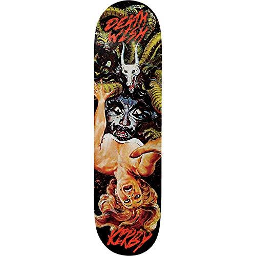 Deathwish Kirby Descent Skateboard Deck -8.0 - Assembled AS Complete Skateboard (Complete Skateboard Deathwish)