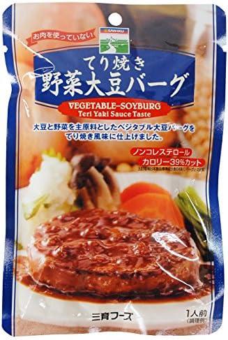 三育 てり焼き野菜ハンバーグ