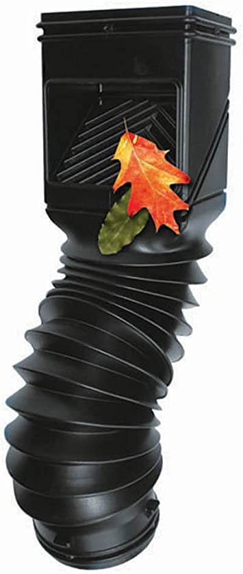 NEW LOT OF 6 The Gutter Wedge Downspout Screen 6 Pack Blocks Leaves Twigs