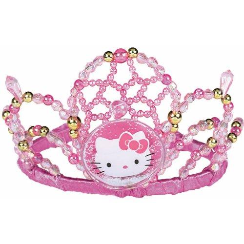 Amscan Hello Kitty 5 X 3-1//2 X 6 Beaded Tiara