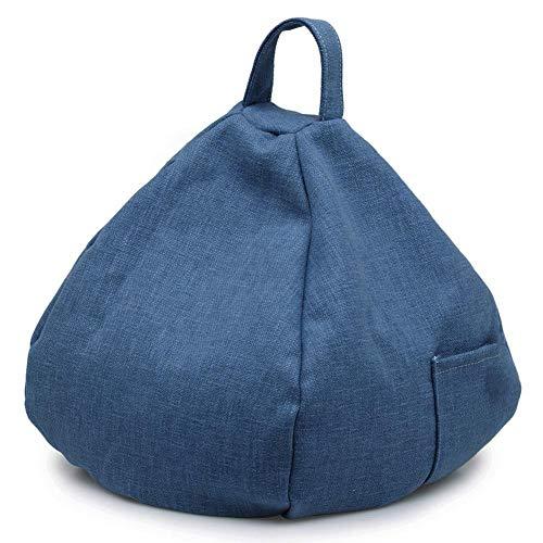 Tablet Kissen, Konische Tragbare Sitzsack Imitation Hanf Car Home Pillow Tablet Kissen - (Robuste Brillen)