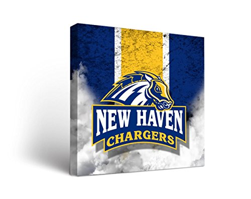 University of New Haven UNH Chargers Canvas Wall Art Vintage