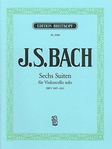 6 Suiten BWV 1007-1012 für Cello (EB 4280)