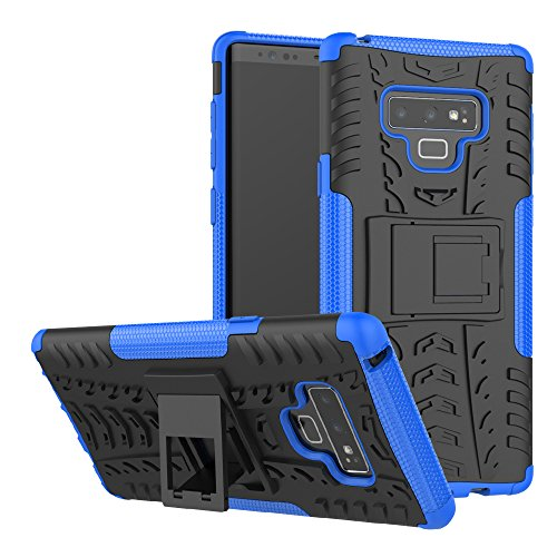 Galaxy Note 9 Case, UZER Shockproof Hybrid Slim Dual Layer Rugged Rubber Hybrid Hard/Soft Impact Armor Defender Full Body Protective Case Cover With Kickstand for Samsung Galaxy Note 9 6.4