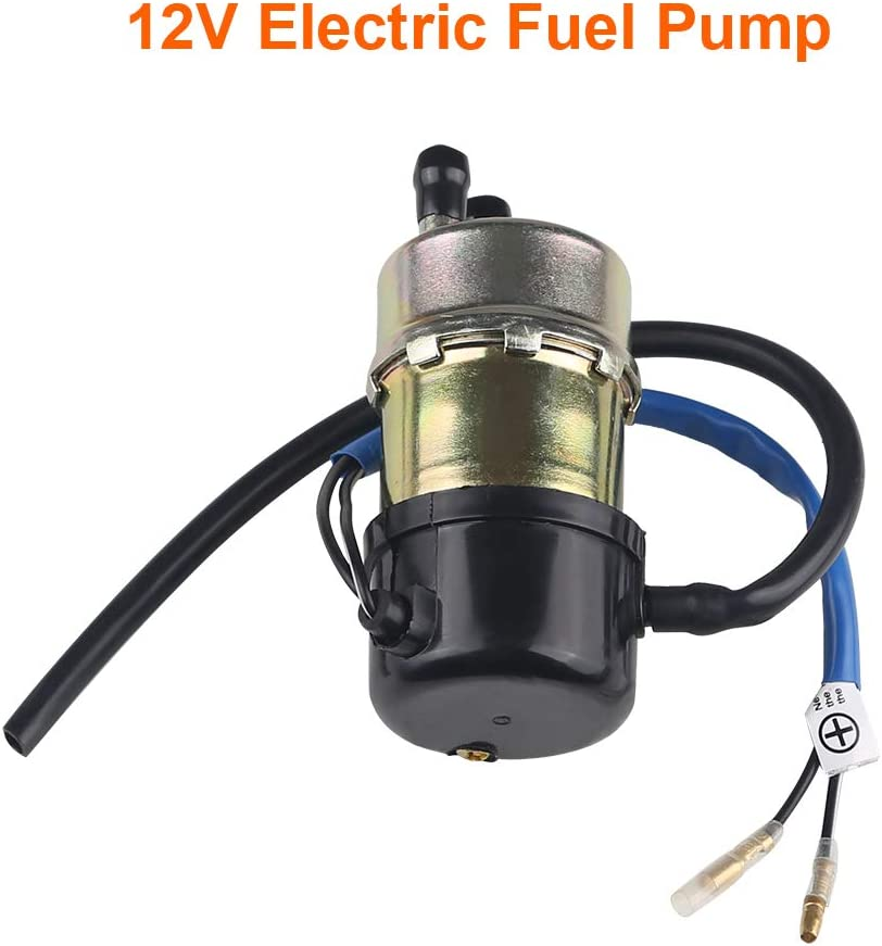 8mm In//Outlet WATERWICH Compatible with 12v Electric Fuel Pump Kawasaki Mule 3010 2510 1000 3000 3020 2520 2500 Replaces 49040-1055 KAF620