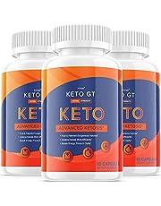 Original - Keto GT Ketogt Weight Loss Pills Advanced Extra Strength Formula Bottle Ketp g t Capsulas Official One Shot Pastillas (3 Bottle Pack)