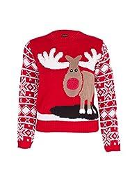 Noroze Boys Girls Unisex Christmas 3D Jumper Pullover