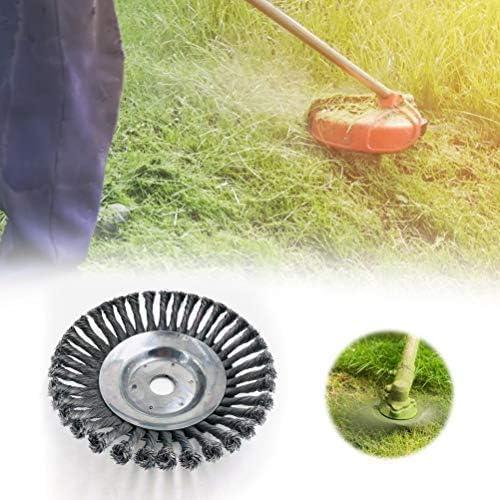 TAIPPAN - Cepillo de Alambre de Acero para cortacésped de jardín (8 Pulgadas), 8inch: Amazon.es: Jardín