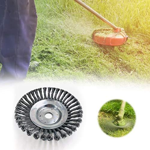 TAIPPAN - Cepillo de Alambre de Acero para cortacésped de jardín ...