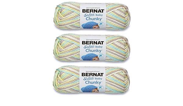 Bernat Softee Baby Chunky Ombre Yarn-My Sunshine