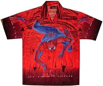 Spiderman Club Shirt (S, Red)