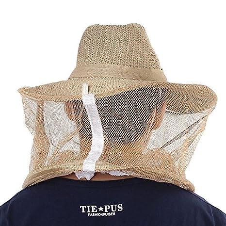 4763b5e0768 Amazon.com   Beekeeper Hat Anti Bee Insect Bee Apicoltore Apicoltura  Beekeeping Helmets   Pet Supplies