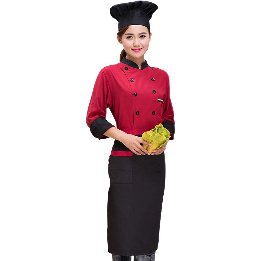 BOZEVON Chef Uniforms - Western Restaurant Pastry Baker Works Uniforms