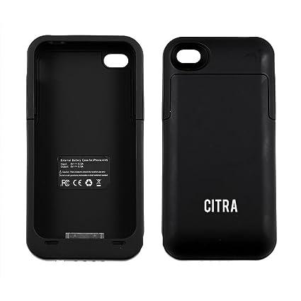 Amazon.com: Citra 2000 mAh Recargable carcasa de batería ...