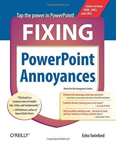 Fixing PowerPoint Annoyances: How to Fix the Most Annoying Things About Your Favorite Presentation Program