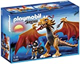 Playmobil - 5483 - Figurine - Dragon D'Or Avec Soldat