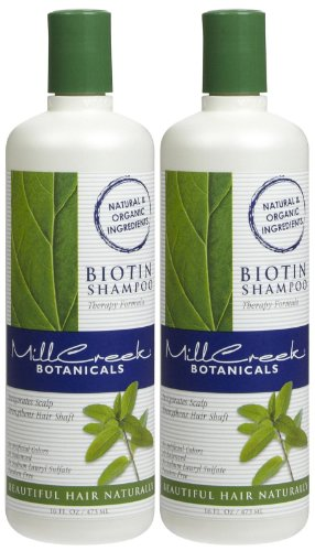 Mill Creek Botanicals Biotin Shampoo - 16 oz - 2 pk -