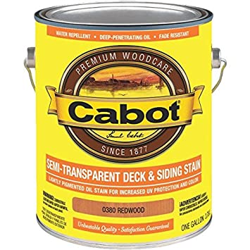 Cabot Semi-Transparent Oil-Based Deck And Siding Stain - Household ...