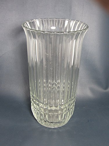 Vintage FTDA Clear Glass Vase - ()