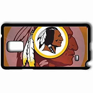 Personalized Samsung Note 4 Cell phone Case/Cover Skin 1431 washington redskins 0 Black