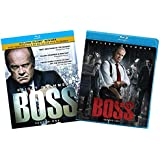Boss: The Complete Series Blu-ray Collection (Season 1 / Season 2) [Kelsey Grammer Bluray Set]