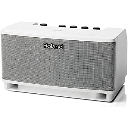 Roland CUBE Lite Monitor Amplifier with Integrated iOS Interface, White