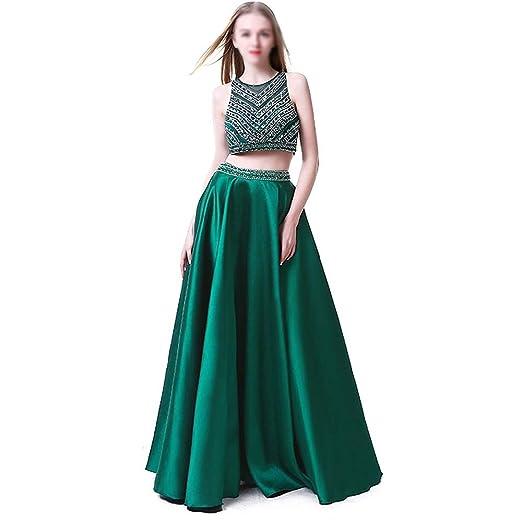 HLL-Dress Vestidos Dirndl Vestido de Fiesta de Banquete con Falda ...