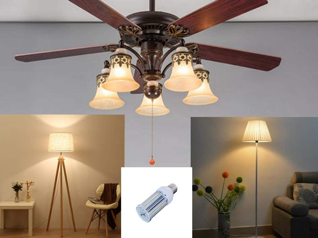 3600 Lumens Cool White 6000K 30W LED Corn Light Bulb E26 Medium Base Bulb 2Pack