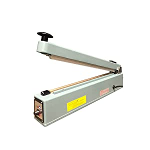 UltraSource Impulse Manual Hand Sealer with Cutter, 16""