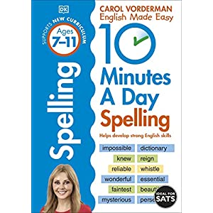 10-Minutes-a-Day-Spelling-Ages-7-11-Helps-develop-strong-english-skills-Made-Easy-Workbooks-Paperback--23-April-2020