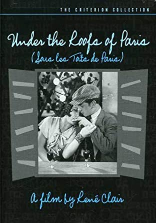Under the roofs of Paris Rene Clair movie poster print