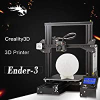Creality Upgraded Ender-3X 3D Printer with Tempered Glass 5PCS Nozzle with Resume Printing Function for School from Creality