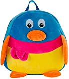 CLICK4DEAL Stuffed Spongy Hugable Cute Duck Shaped School Shoulder Bag For Kids Birthday / Return Gifts Girls Lovable High Quality Special Gift