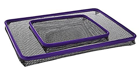 Cook's Essentials Set of 2 Non-Stick Oven Crisper Trays (Purple) (Crisper Trays)