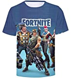 CosplayLife Fortnite T-Shirts 3D Print Creative T-Shirt Gamers Heros Youth Adult-S