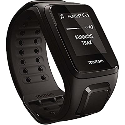 TomTom Spark, GPS Fitness Watch with Optional Features (Spark, Spark Cardio, Spark Cardio + Music, with/Without Headphones Bundle)